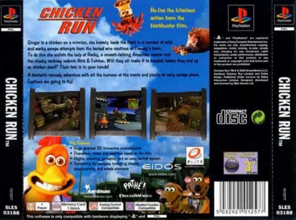 Игру Chicken Run Ps1
